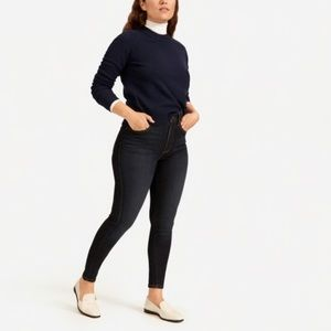 Everlane Authentic Stretch High Rise Skinny 25/26